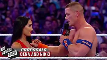 wwe raw bang-out plumb beautiful in-ring proposals.