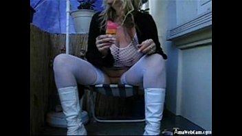 Girl Gets Naked on Webcam