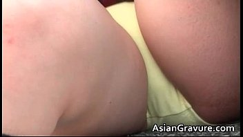 uber-cute japanese student posing in beautiful