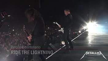 metallica rail the lightning  for whom the.