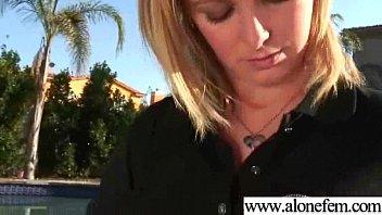 Girl Masturbating With Sex Toys Dildos To Get Orgasm clip-32