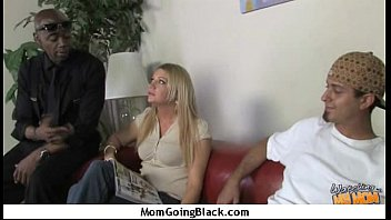 Mature MILF takes on big black cock 4