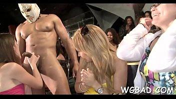tastey honey gets her beaver porked during stripper soiree