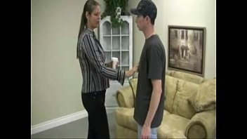 Mommy gives son awsome handjob!