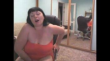 Slutscamgirls.com - Web Cam Russian bbw make a hot show!