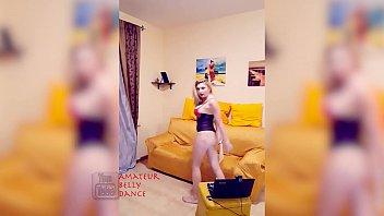 Sexy Blonde Magician Lingerie Magic Stick Trick  Show &amp_ Performance