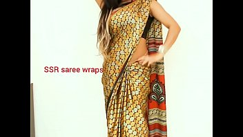 telugu aunty saree satin saree  hump flick.