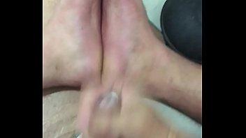 02 jizm on my feet
