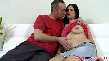 Hot Bbw Nadine Sucks Big Cock and Gets Fucked Hard