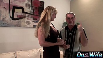 ash-blonde cougar pokes in front of.