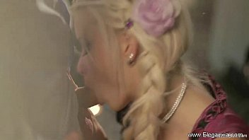 silver-blonde fellucia finest blow-job ever