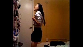 Asian beauty strip on Webcam - for more visit pornvideocorner.com