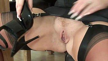 witness mature stocking brit bitch
