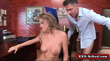 Big tit slut gets pounded by school teacher 02
