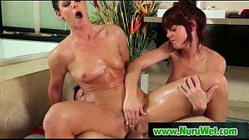Nuru Massage Slippery Sex And Wet Handjob 22