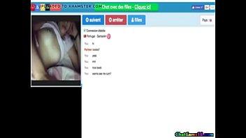 horny portuguese teen show boobs on webcam