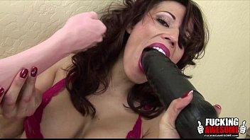 Layla Rivera Having Fun With Big Toys