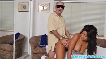 youthfull bombshell firsttime railing grandfather firm-on
