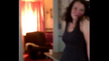 Hot &amp_ Horny MILF pulls dress off.